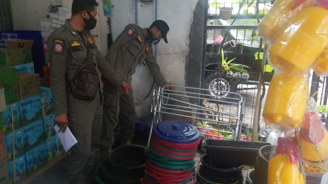 Patroli pemantauan toko dan tempat usaha di Wilayah Kota Yogyakarta