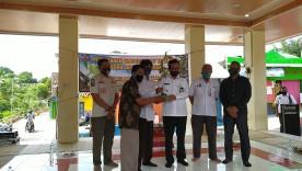 Penyerahan Simbolis Tanaman Oleh Bapak Wakil Walikota Yogyakarta