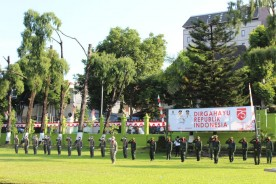 Upacara Bendera HUT Republik Indonesia ke – 75