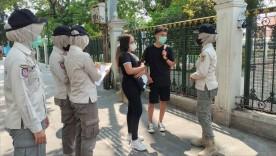 Satpol PP Pariwisata Kota Yogyakarta melaksanakan Pengamanan dan Patroli di kawasan wisata