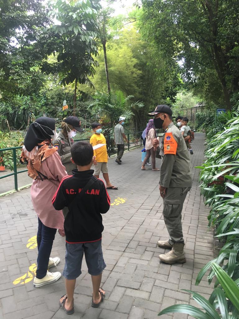 Pol PP Pariwisata Kota Yogyakarta Melakukan Patroli dan Pengawasan Pada Objek Wisata