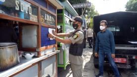SATPOL PP Kota Jogja Utamakan Cara Persuasif Dalam Menertibkan Pelanggar PPKM Darurat